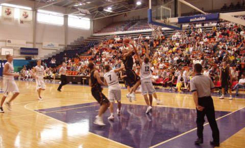 Basketbola halle