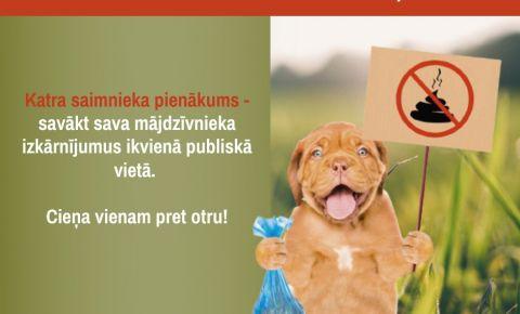Jēkabpilī izvietoti 10 specializētie konteineri, kas paredzēti suņu izkārnījumu izmešanai