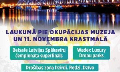 Jau rīt Rīgā valdīs sportiska atmosfēra
