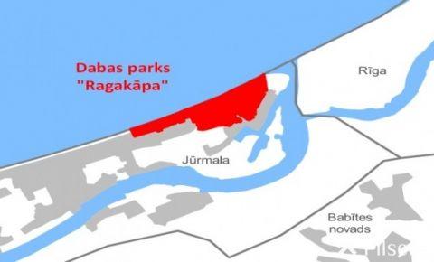 """Paziņojums par dabas parka """"Ragakāpa"""" dabas aizsardzības plāna izstrādes sabiedriskās apspriešanas sanāksmi"""