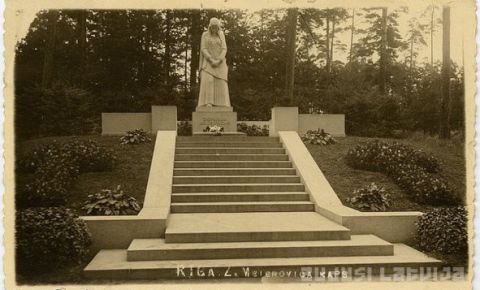 Kapa piemineklis Z. A. Meierovicam