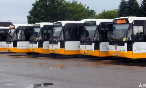 """""""Jelgavas autobusu parks"""" starp drošākajiem uzņēmumu autoparkiem"""
