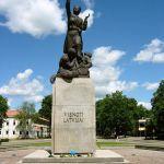 """Piemineklis """"Vienoti Latvijai"""""""