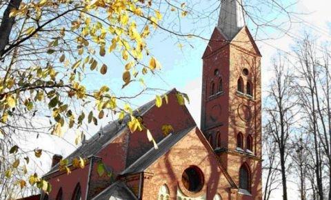 Евангельская лютеранская церковь Святой Троицы в Резекне