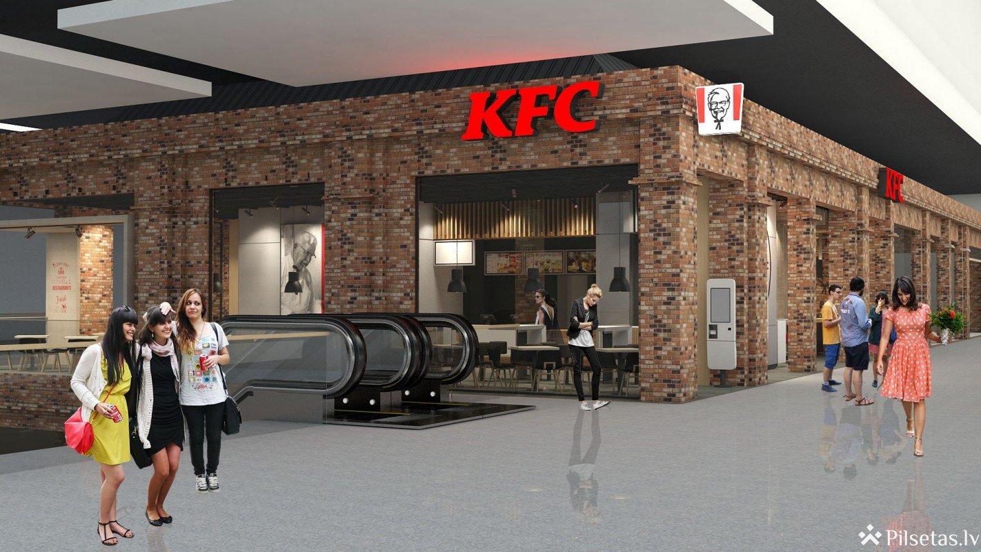 """Pārņemot franšīzes vadību, """"Apollo Grupa"""" atvērs jauna koncepta KFC restorānu """"Akropolē"""""""