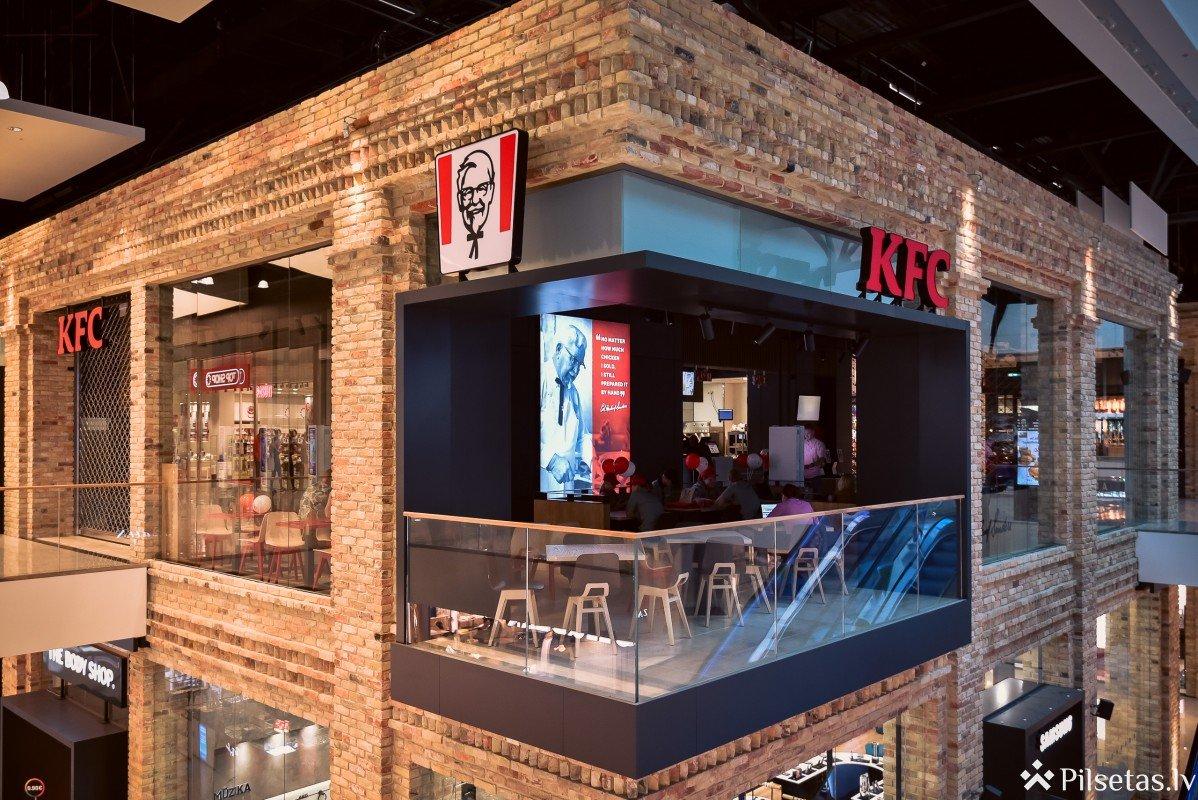 Līdz gada beigām Rīgā plānots atvērt trīs jaunus KFC restorānus