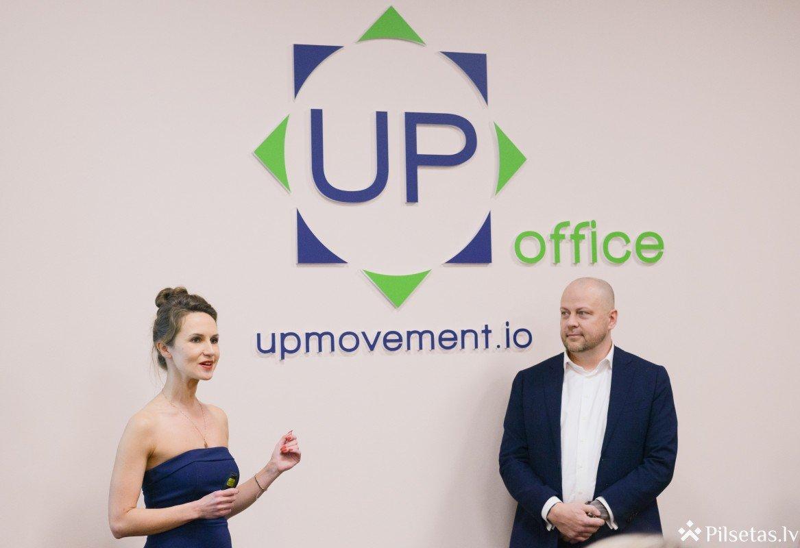 Rīgā svinīgi atklāta jaunā koprades telpa UP Office