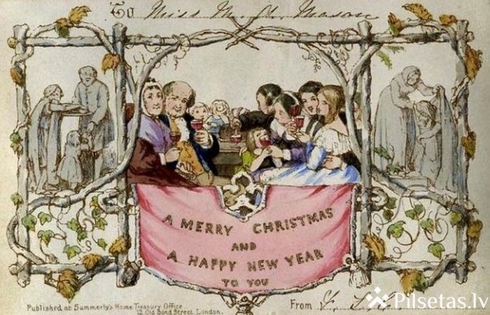 Ziemassvētku kartiņas:pagātne vai tagadne?