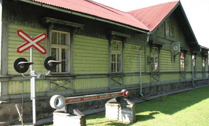 Latvijas dzelzceļa muzejs, Jelgavas ekspozīcija