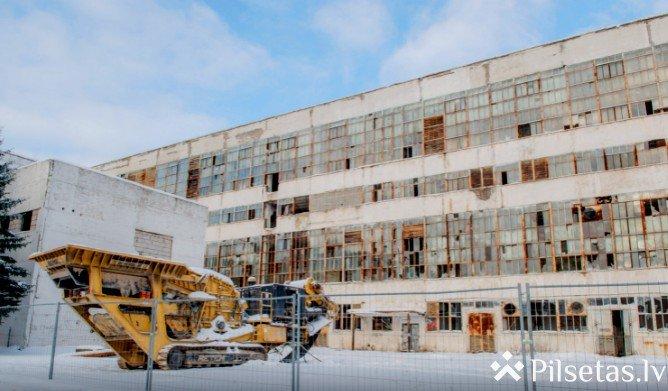 Tiek nojaukts bijušās Ķīmiskās šķiedras rūpnīcas komplekss