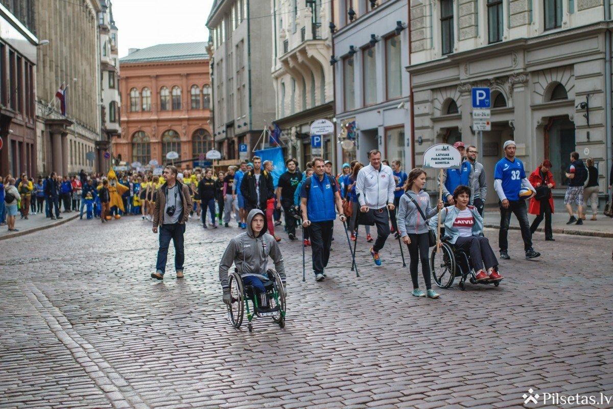 Rīgā aizvadīta sportiskākā nedēļas nogale