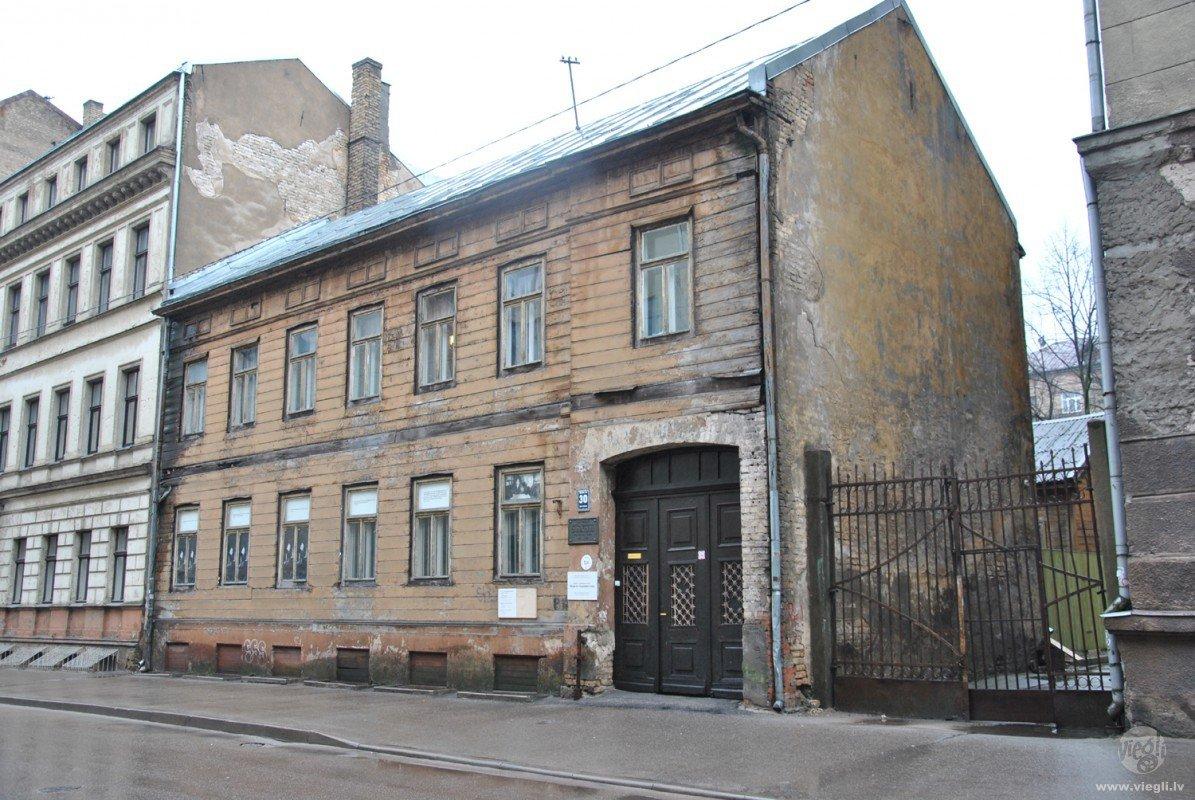 Raiņa un Aspazijas māja