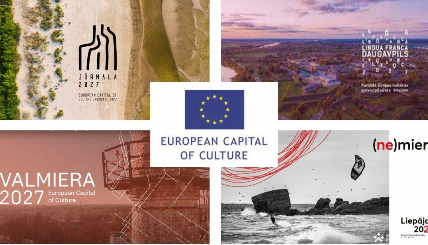 Daugavpils, Jūrmala, Liepāja un Valmiera iekļūst konkursa 2027. gada Eiropas kultūras galvaspilsēta Latvijā nākamajā kārtā