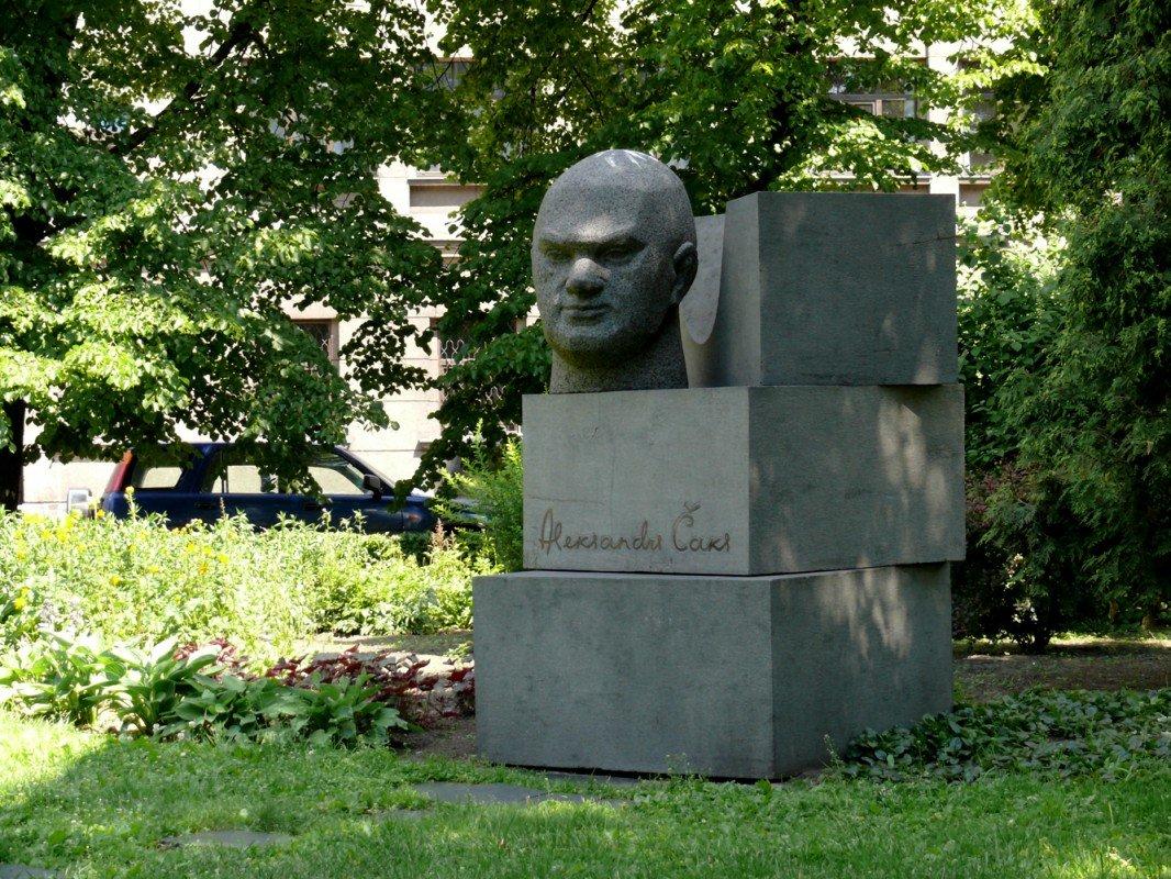 Piemineklis Aleksandram Čakam
