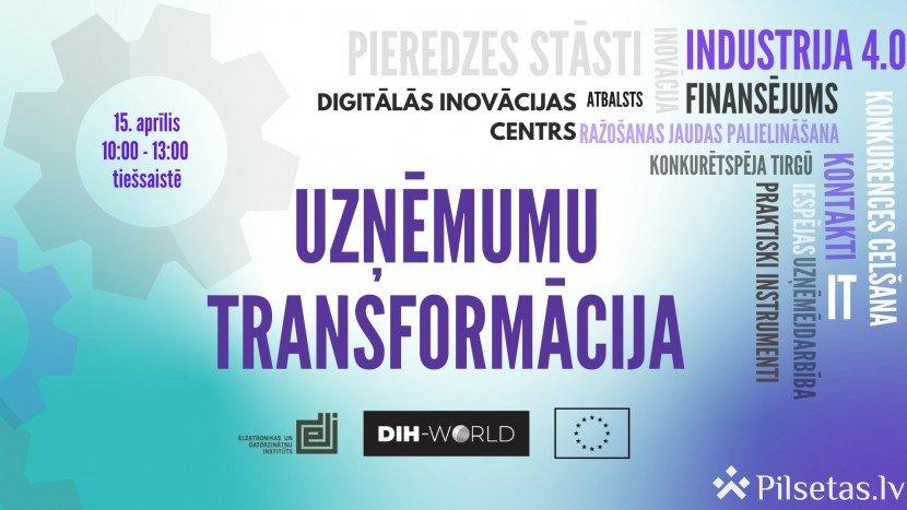 Notiks tiešsaites pasākums mazo un vidējo uzņēmumu digitālo transformāciju