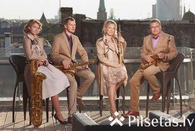 Daugavpils Universitātē koncertu sniegs Rīgas saksofonu kvartets