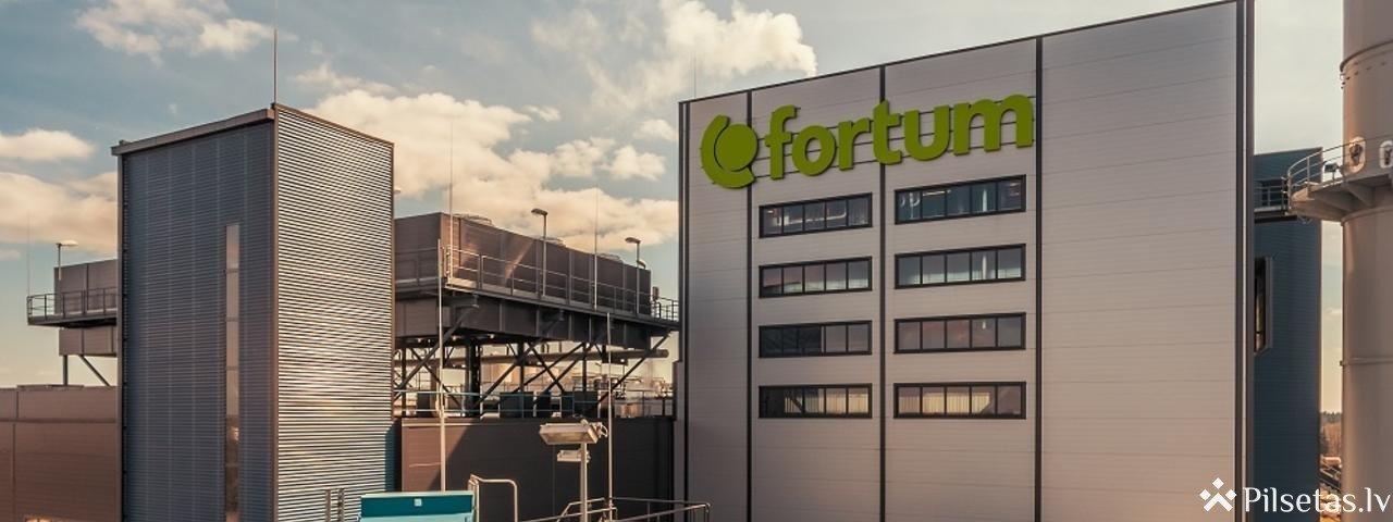 """""""Fortum"""" dedzinās no atkritumiem iegūtu kurināmo"""
