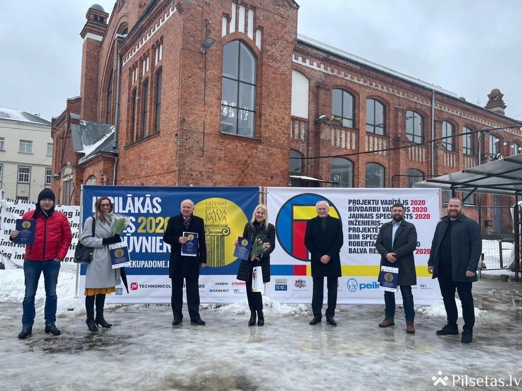 """VSIA """"Zemkopības ministrijas nekustamie īpašumi"""" pārbūvētais Gaujas-Daugavas kanāls iegūst Latvijas būvniecības gada balvu"""