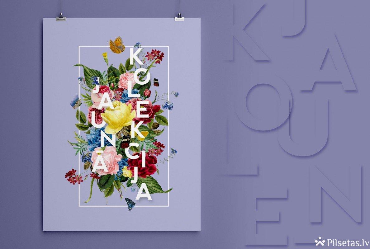 Plakāts – informācijai un dekoram