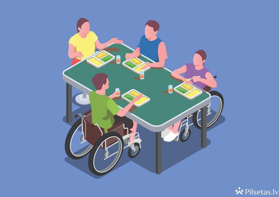 Izveidota darba sludinājumu vietne cilvēkiem ar invaliditāti
