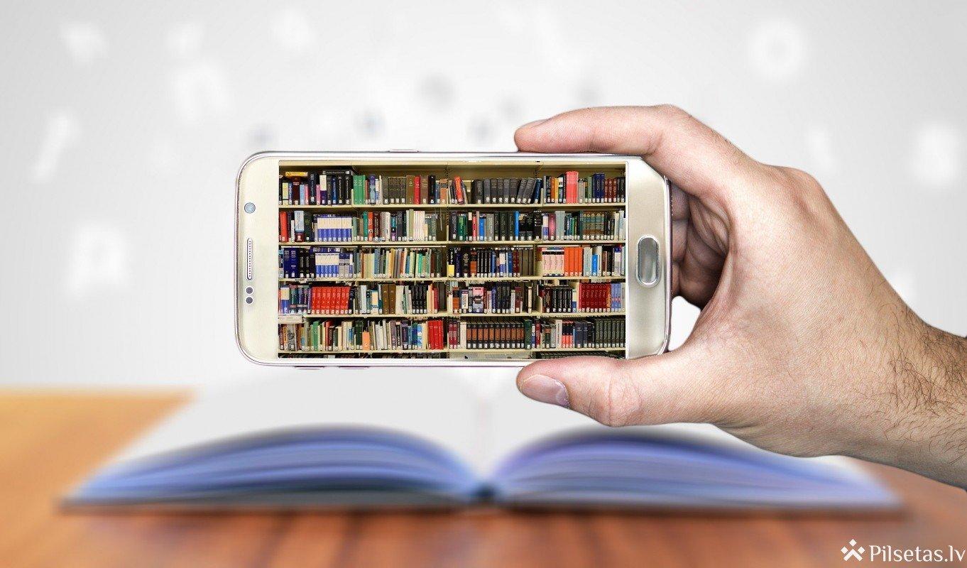 Jelgavas pilsētas bibliotēkā var pieteikties nodarbībām par e-resursiem