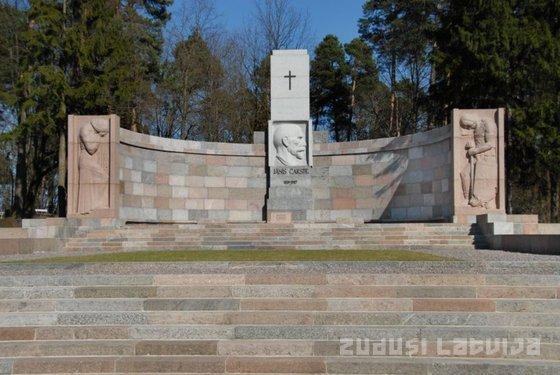 Kapa piemineklis Jānim Čakstem