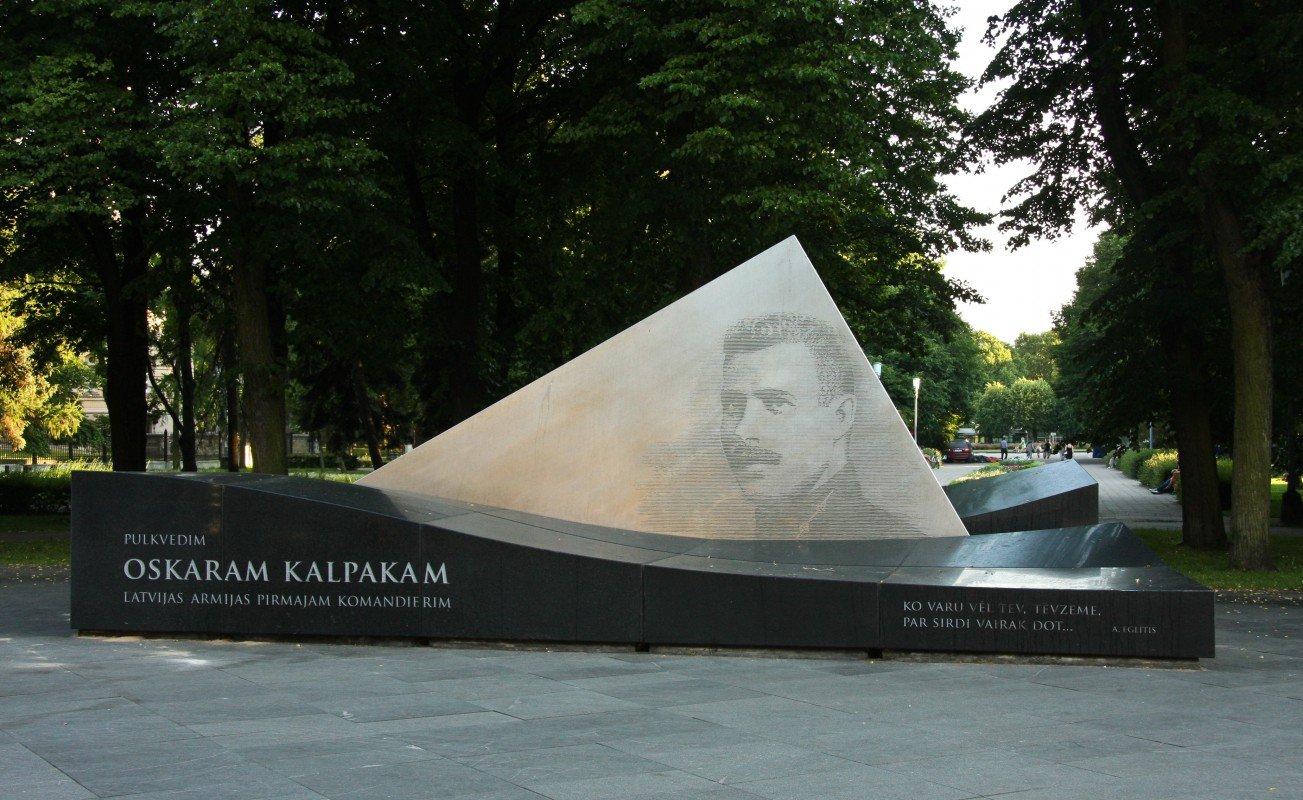 Piemineklis Oskaram Kalpakam