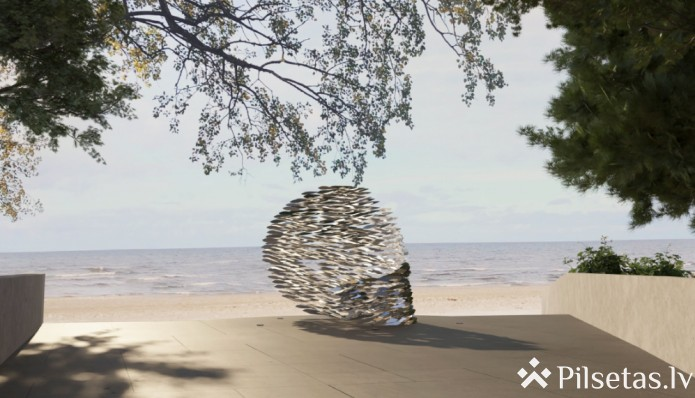 """Jūrmalā taps pilsētvides objekts """"Baltijas straume"""""""