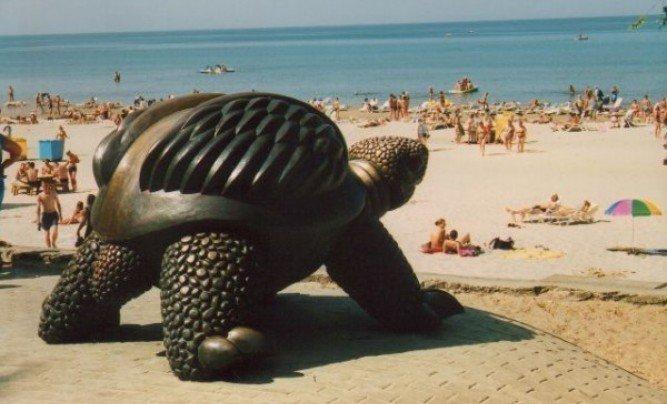 "Skulptūra ""Bruņurupucis"""