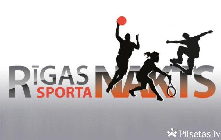 """Aicina pieteikties tirgotājus, ēdinātājus un dalībniekus aktīvās atpūtas un sporta pasākumam """"Rīgas Sporta nakts"""""""