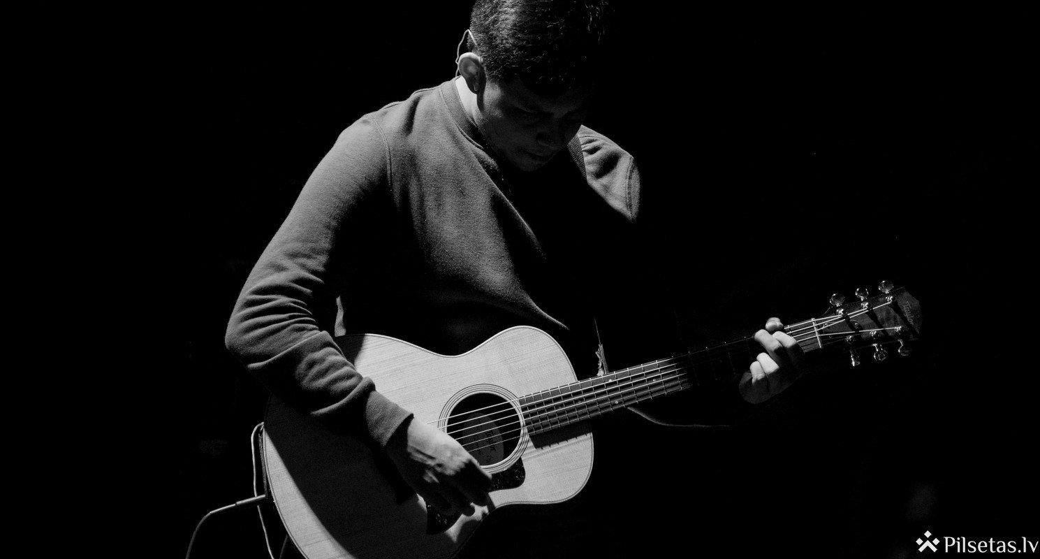 Ģitārista Mārča Auziņa solo koncerts