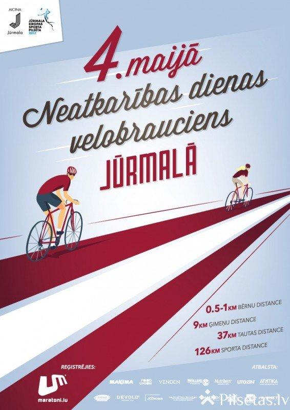 Aicina riteņbraucējus vienoties Neatkarības dienas velobraucienā