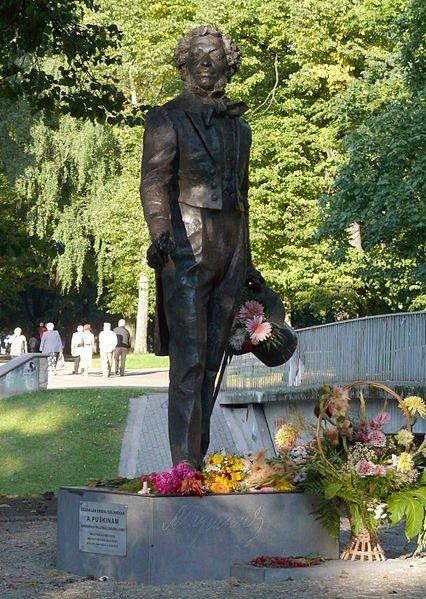 Piemineklis Aleksandram Puškinam