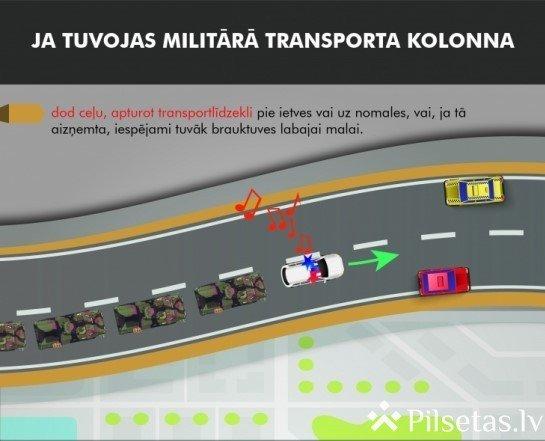 Brīvdienās pa Vidzemes autoceļiem pārvietosies militārais transports