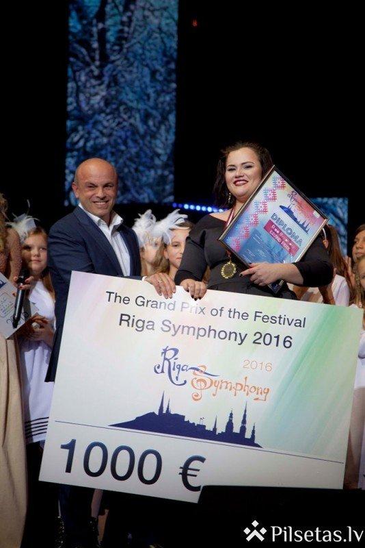 """Ar Lietuvas pārstāves uzvaru noslēdzies festivāls """"Riga Symphony 2016"""""""