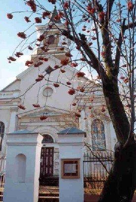 Jēkabpils Sv. Jaunavas Marijas Dzimšanas Romas katoļu draudzes baznīca