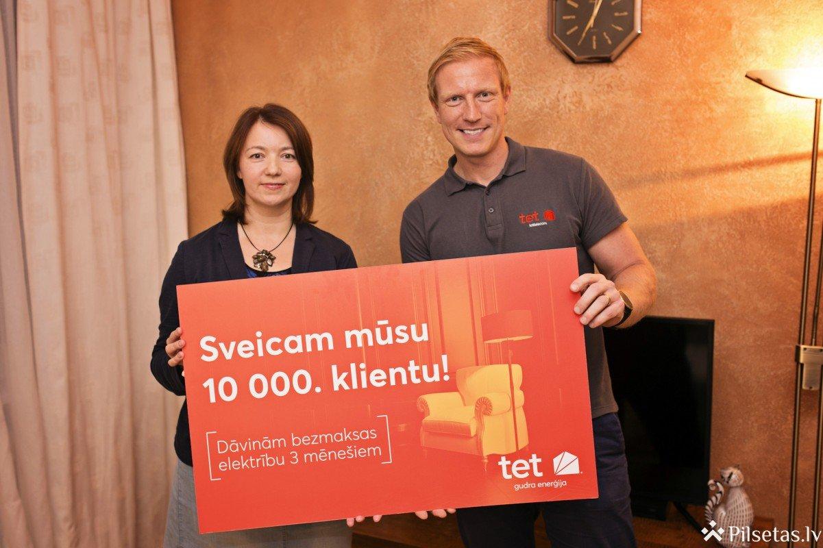 Lattelecom tet elektroenerģiju izvēlējušies jau 10 000 klientu