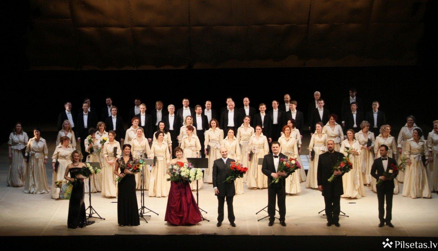 Pērles uz zvaigznes. Latvijas Nacionālā opera un balets turpina tiešsaistes programmu ar spožiem koncertuzvedumiem