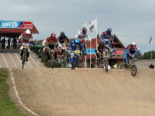 BMX trase