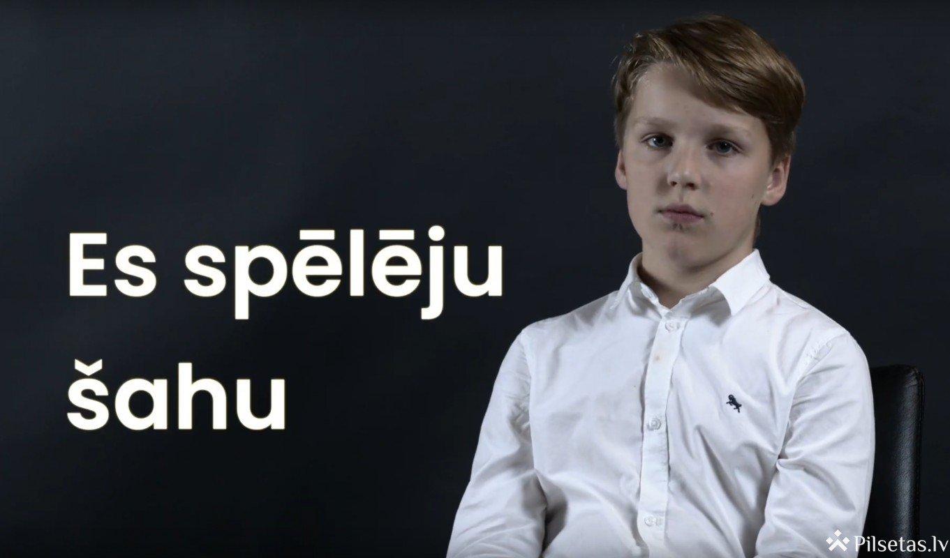 Latvijas Skolu  skolēnu  olimpiādē šahā