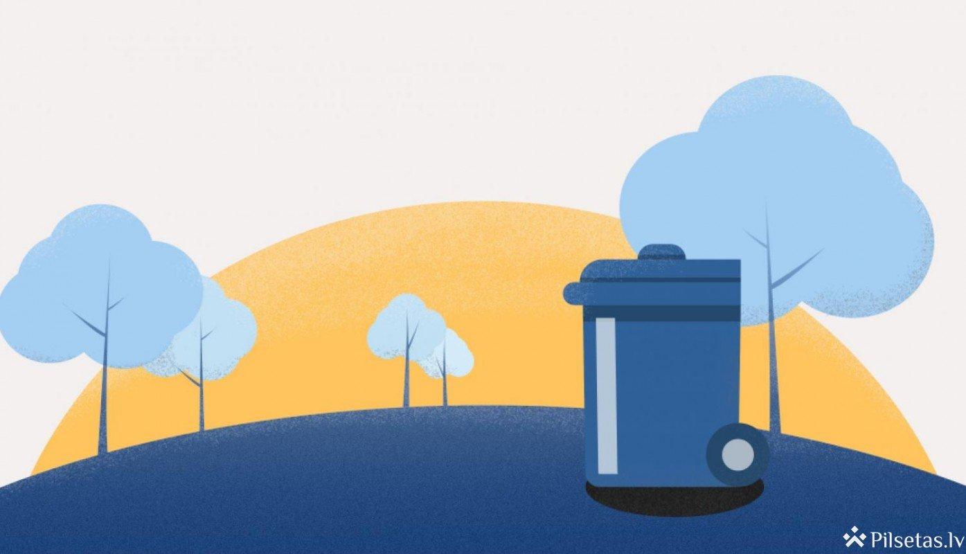 Aicina iedzīvotājus informēt pašvaldību par atkritumu šķirošanas problēmām