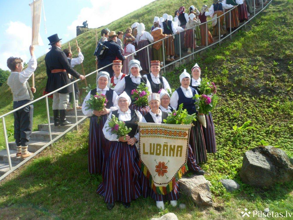 """Folkloras kopa """"Lubāna""""piedalās starptautiskajā folkloras festivālā """"Baltica 2015"""""""